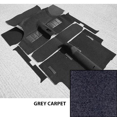 Moulded Carpet Set, Mini Saloons 1973-on, GREY