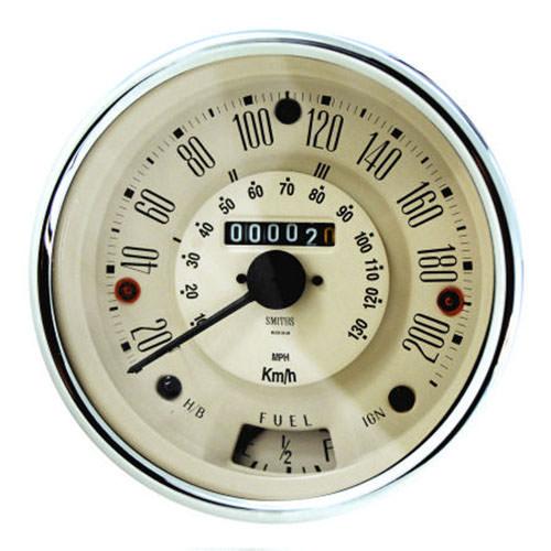 Speedometer, Cooper S, 200kph, Smiths, Magnolia