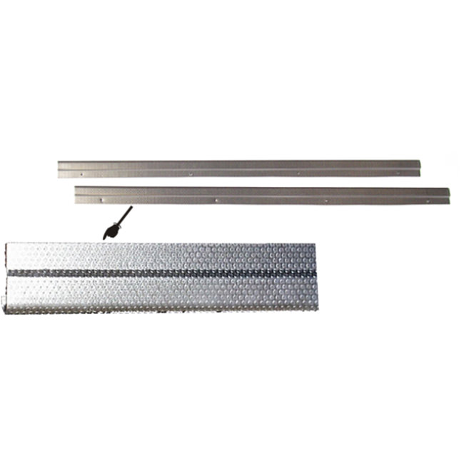 Tread Plate Set, aluminum, dot-pattern