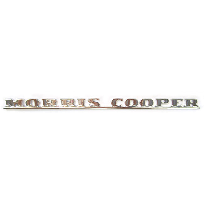Boot Badge, Mk1, Morris Cooper (24A0024)