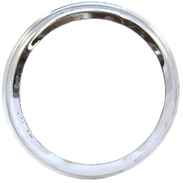 Indicator Lens Retainer, chrome