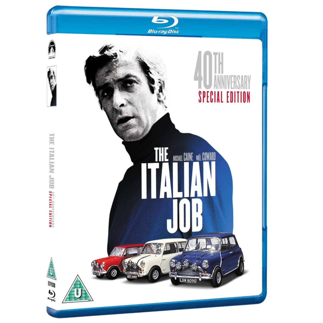 The Italian Job [Blue-ray], Original 1969 Version