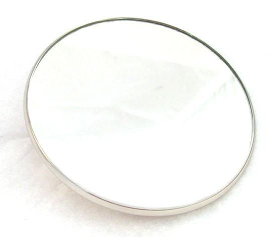 Round Mirror Head, UK Moke