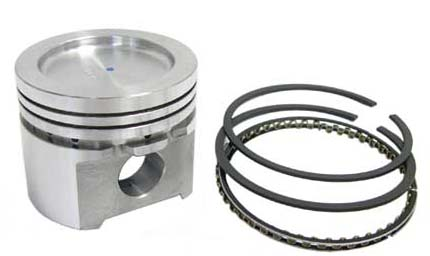 Piston, 1362cc 73mm Big-bore, 11cc dish (C-STR313) - C-STR313