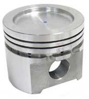 Piston, 1362cc 73mm Big-bore, 11cc dish (C-STR313) 73mm big bore big-bore piston, Piston, 1362cc 73mm Big-bore, 11cc dish (C-STR313)
