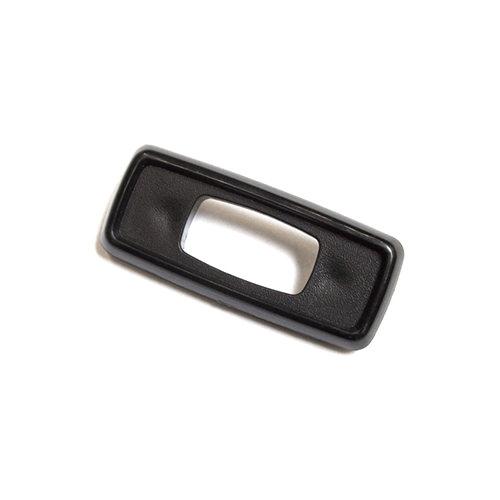 Door Lock Control Bezel, Black Plastic