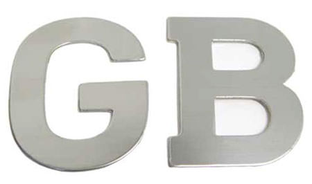 """GB"" Boot Badge"