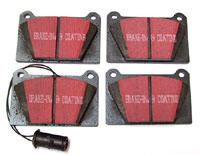 Brake Pads, 4-pot caliper, Black Stuff (GBP258KEVLAR) Brake Pads, 4-pot caliper, Black Stuff (GBP258KEVLAR)