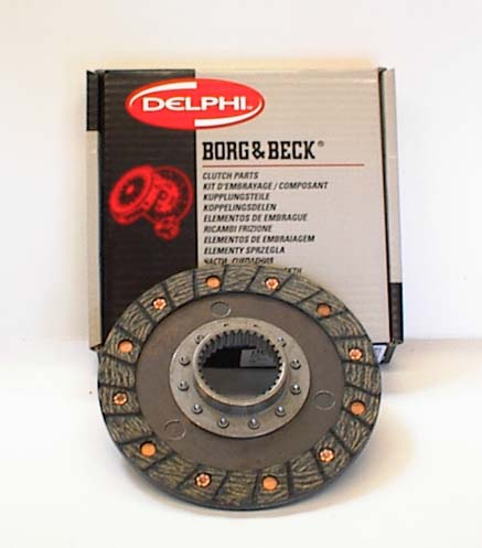 Clutch Disc, pre-Verto