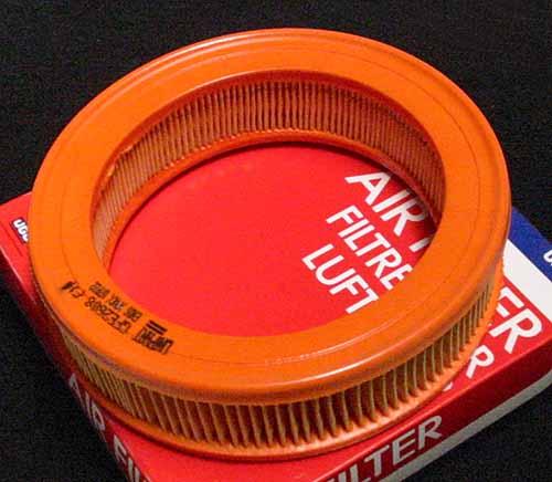 Air Filter Element, Single HS4 (GFE1008) GFE2608, mkIII, Air Filter, Austin America, Mini 1000 (GFE1008)