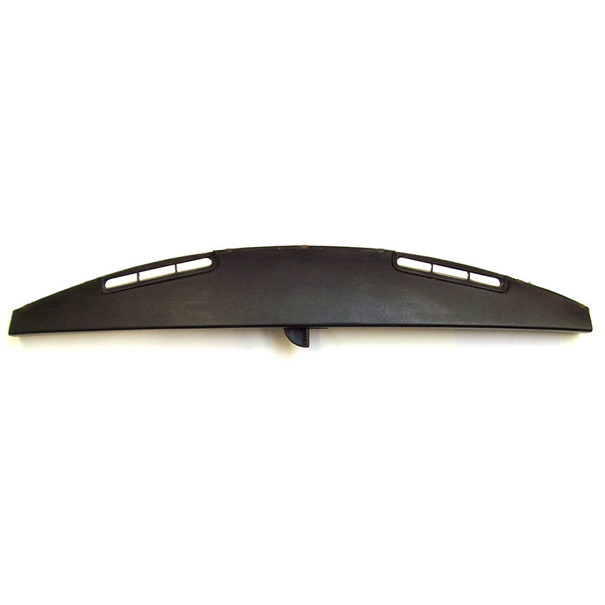 Dash Rail Pad, Upper, 1991-on, Black, Used (shown with ashtray open)