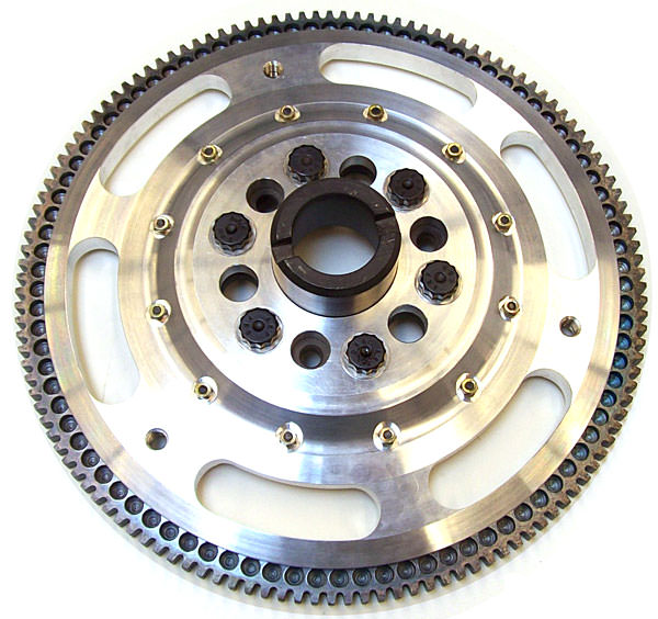 KAD Aluminum Flywheel, pre-Engaged Starter