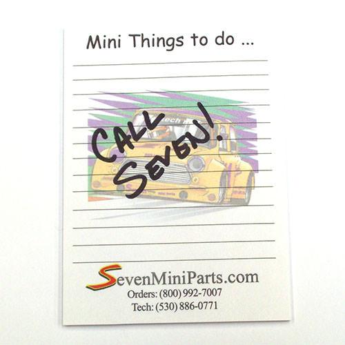 Seven Sticky Notepad