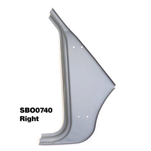 Hinge Panel, Mk1 Mk2, Mono Side Replacement, Right Hand (SBO0740)