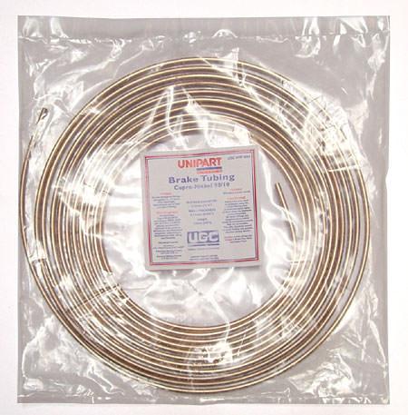 Bulk Brake Pipe, Copper Nickel, 25' roll