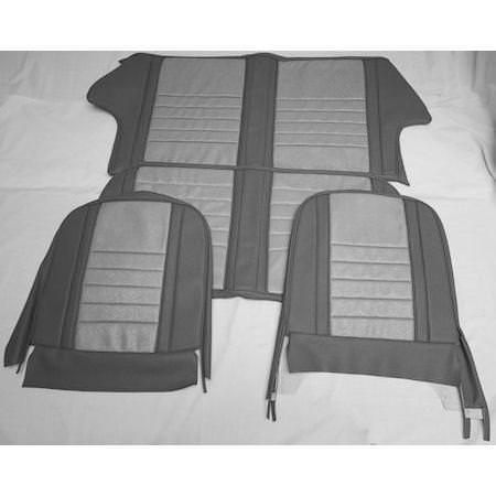 seat cover kit front rear mk1 cooper cooper s sc3010 seven mini parts. Black Bedroom Furniture Sets. Home Design Ideas