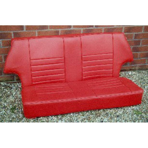 Rear Seat Covering Kit, All Saloons, Leather