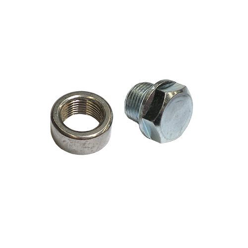 O2 Sensor Bung and Plug, Weld-In