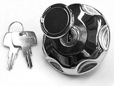 Locking fuel cap, concealed key, Vented (SIE0320) locking gas cap, locking petrol cap, Locking fuel cap, concealed key, Vented (SIE0320)