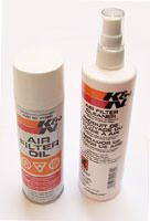 Air Filter Cleaning Kit, K&N