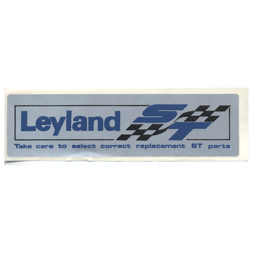 Decal, Rocker Cover, Leyland ST