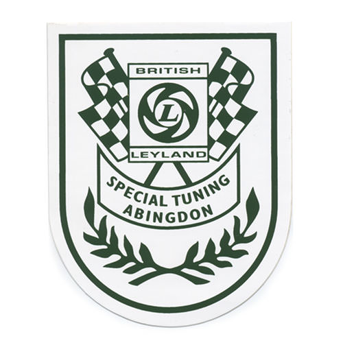Decal, Abingdon Special Tuning Shield