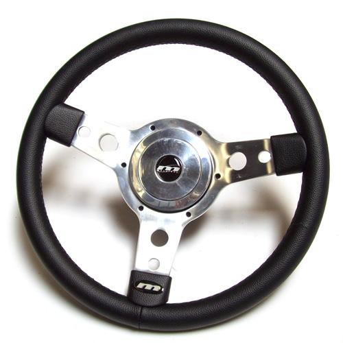 """Steering Wheel, 13"""" Vinyl w/ Hub"""