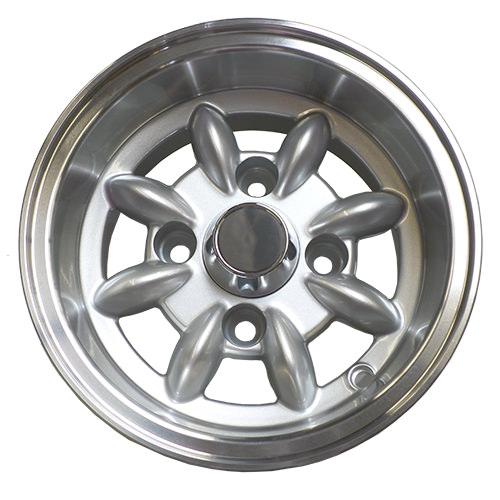 """10""""x6"""" JBW Minilight Wheel, Silver"""