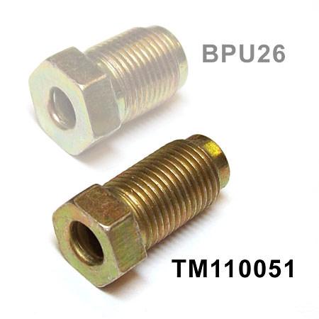 Brake Pipe Fitting, Male, 10mm (TM110051) - TM110051