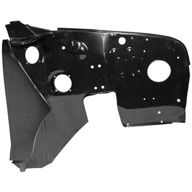 Inner Front Fender (Wing), Right Hand, with hinge panel