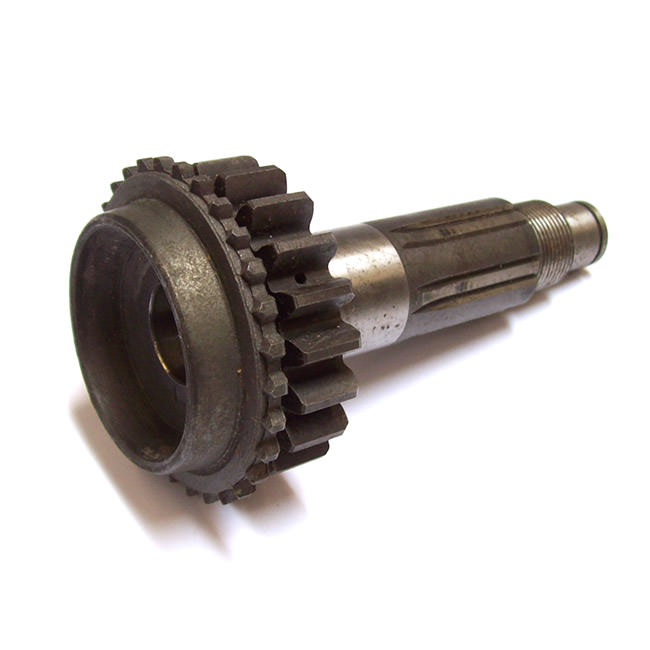 First motion shaft (gear), early 3-synchro, straight-cut, 20 teeth