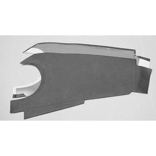 Dashboard Trim Panels, 1962-70 Round Binnacle