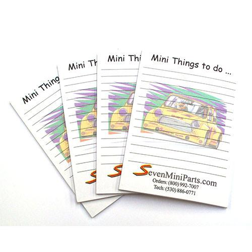 Seven Sticky Notepad (NOTEPAD) - NOTEPAD