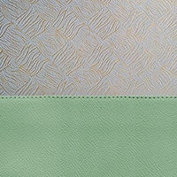 Porcelain Green / Gold Brocade