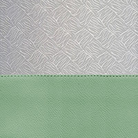 Porcelain Green / Silver Brocade