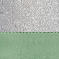 Porcelain Green / Silver Brocade