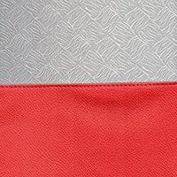 Tartan Red / Silver Brocade