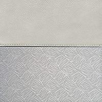 Dove Grey / Silver Brocade