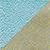 Powder Blue / Gold Brocade
