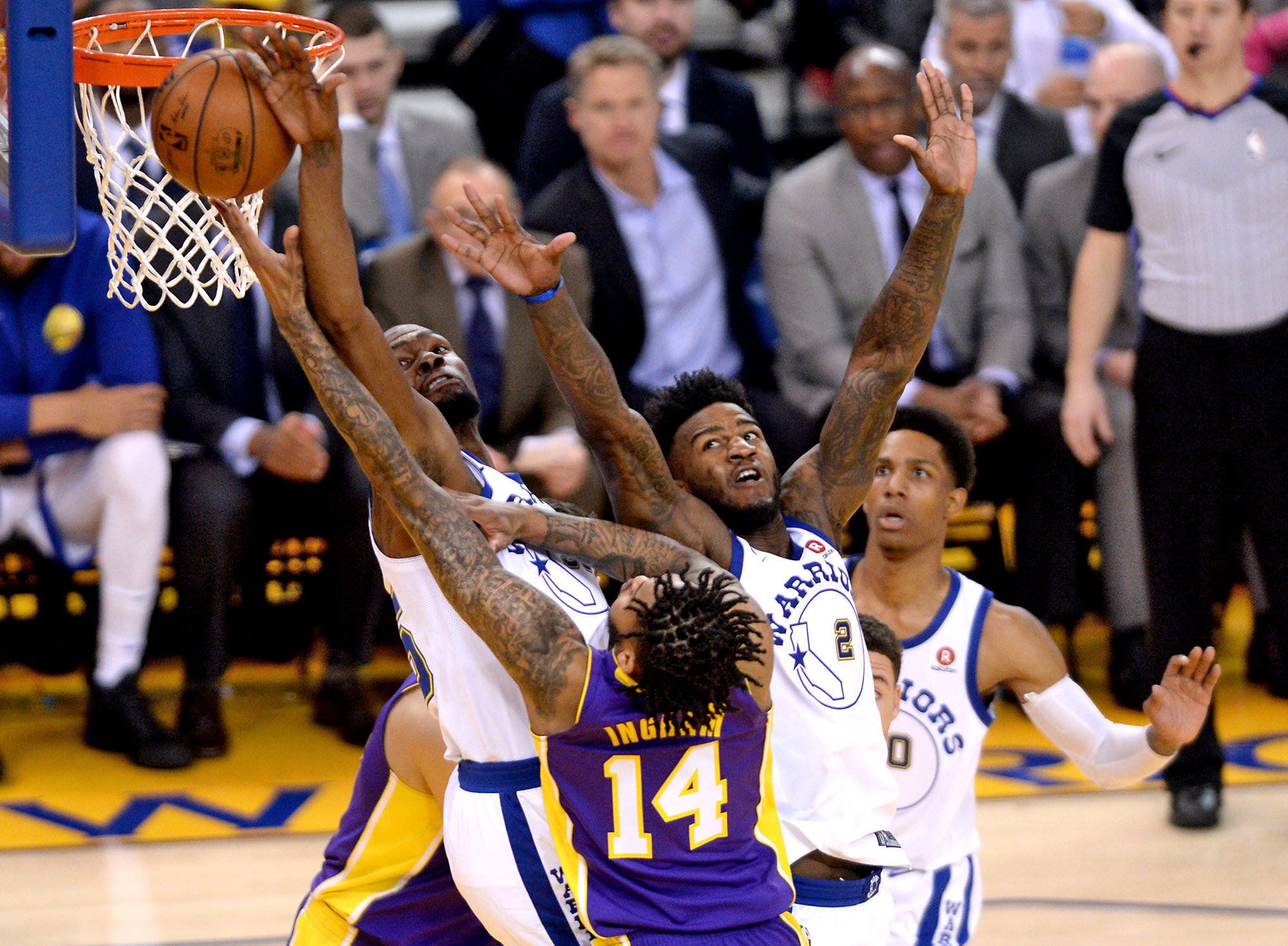 Jordan Bell lifts Warriors to 11th straight win