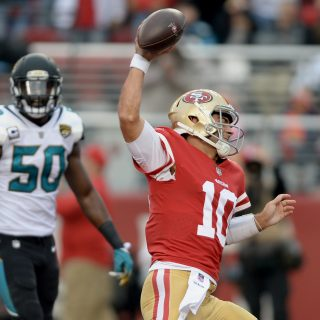 49ers jump playoff-bound Jags on Christmas Eve