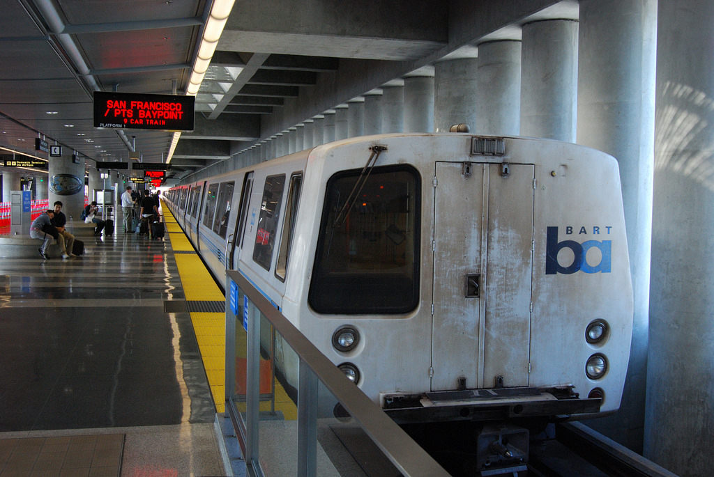 BART goes after fare evaders within paid areas of stations.