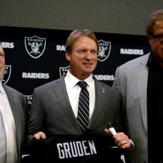 For Gruden, Raiders reuniting was child's play
