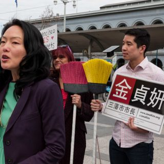 Jane Kim promises clean streets if elected mayor