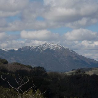 Frosty temps bring chance of snow to Bay Area peaks