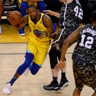Durant added to Warrior injured list, joining Thompson, Curry