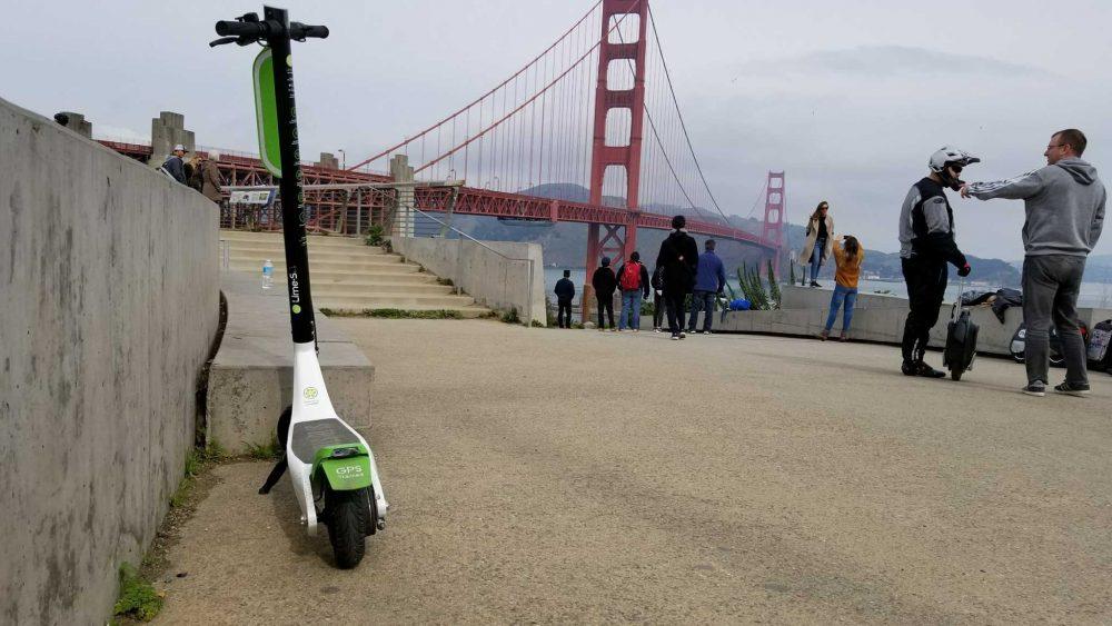 Scooter Rental San Francisco >> Lime Bike e-scooters flood SF streets | SFBay :: San ...