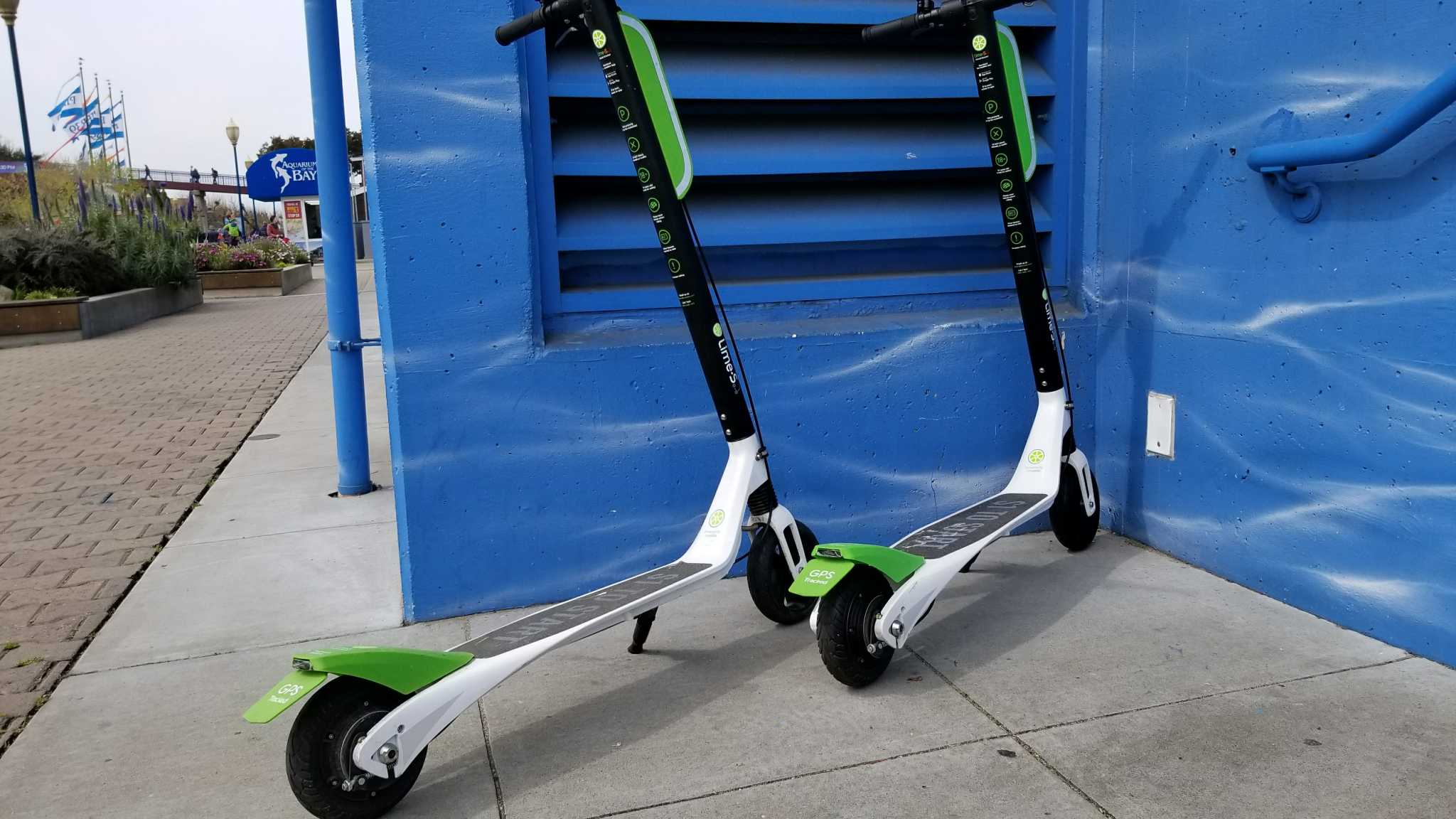 Scooter Rental San Francisco >> Lime Bike E Scooters Flood Sf Streets Sfbay