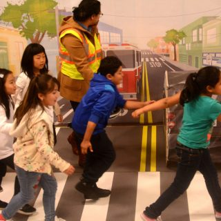 Elementary students get lesson about traffic safety