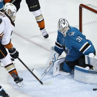 Sharks get another gem from Jones, sweep into Round 2